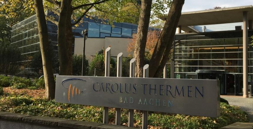 Citytrip détente et découverte : Aachen Samedi, les thermesCarolus