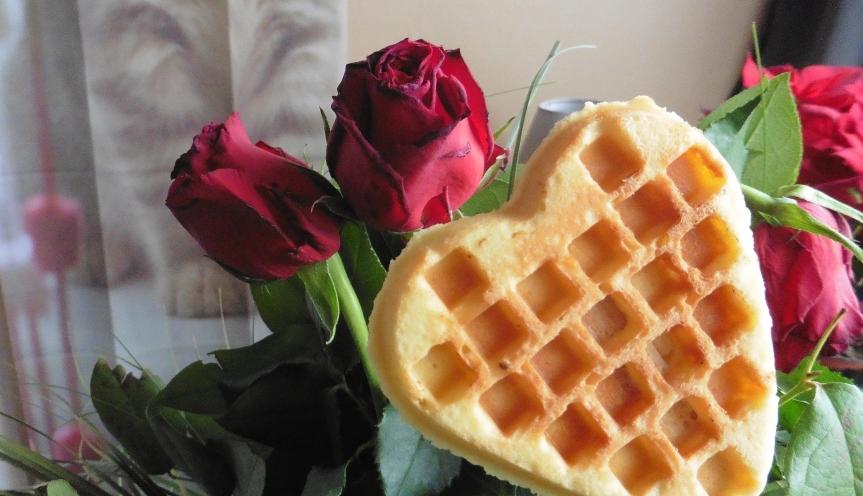 Des galettes en coeur pour laSaint-Valentin