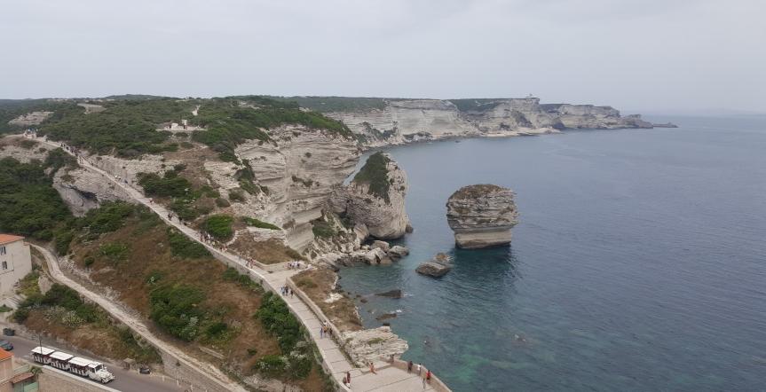 Corsica 2018 – 1 – A la découverte de l'ile de beauté :Bonifacio
